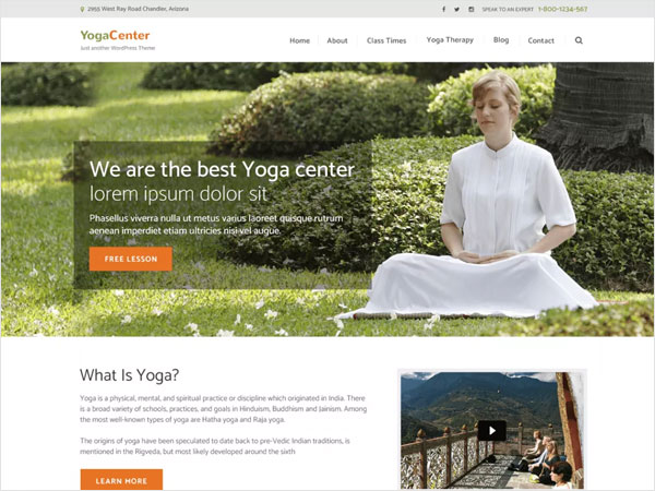 free-pranayama-yoga-modern-clean-wordpress-theme