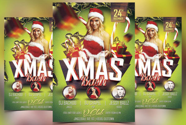 free-xmas-bash-flyer-template-design
