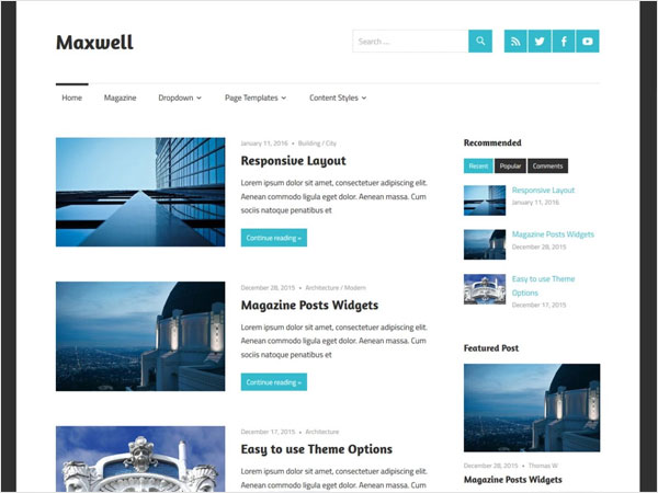 maxwell-a-minimalistic-and-elegant-wordpress-theme