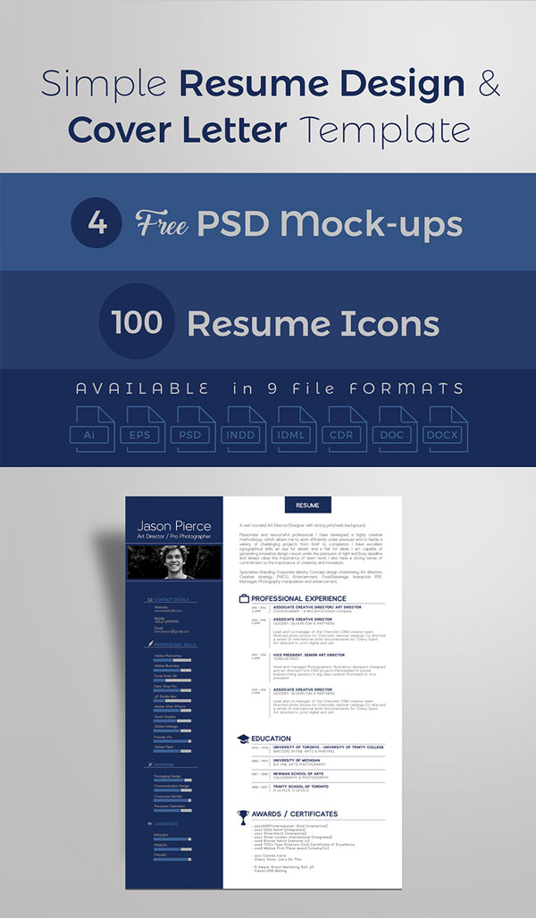 premium-simple-resume-cv-design-cover-letter-template