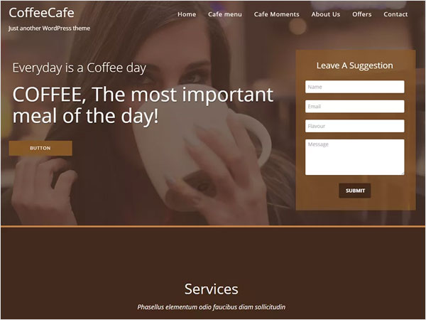 coffeecafe-one-page-responsive-theme-for-wordpress