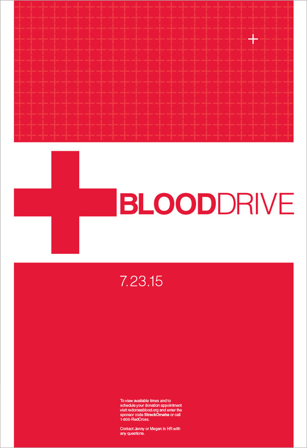 Creative-Blood-Drive-Poster-Design-For-Inspiration