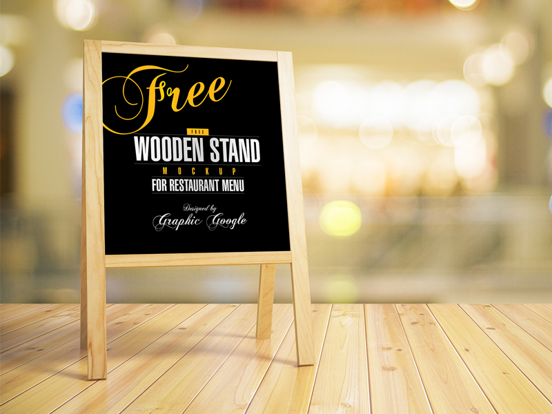Free-Restaurant-Wooden-Menu-Stand-MockUp-Psd