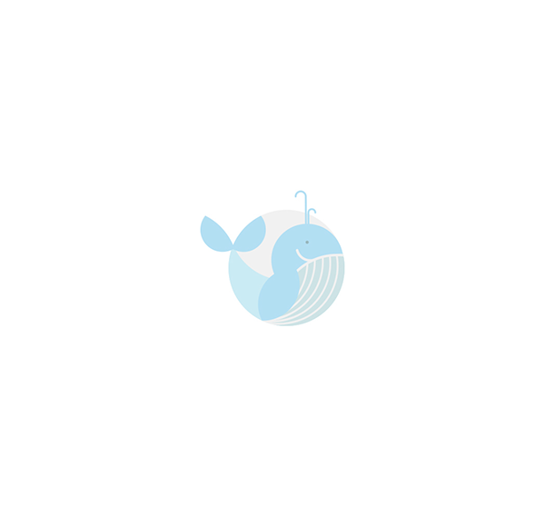 Little-Whale-Water-Park-For-Toddlers-Creative-Logo-Design