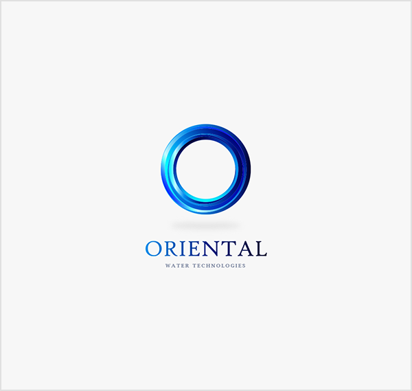 Oriental-Water-Technologie-Creative-Logo-Design