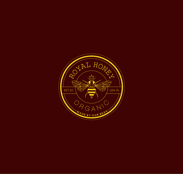 Royal-Honey-Organic-Logo