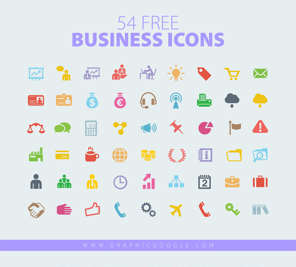 54-Free-Business-Card-Icons