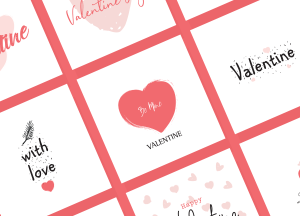 9 Free Valentine Cards in Vector Format 2017