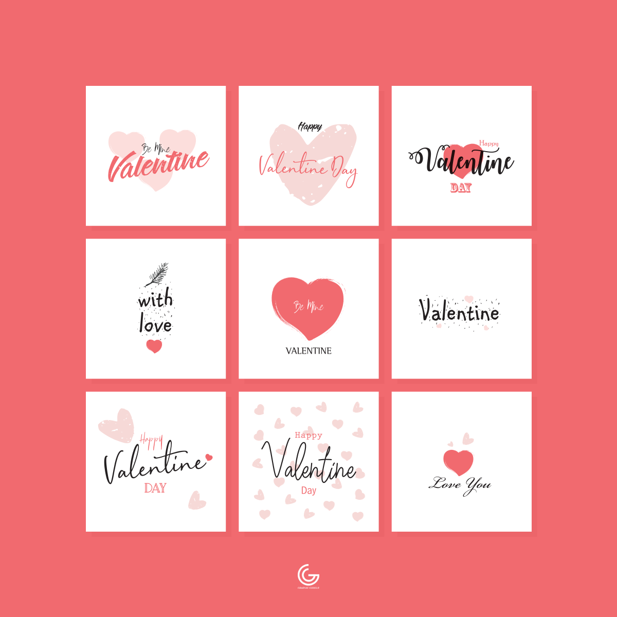 9-Free-Vector-Valentine-Cards