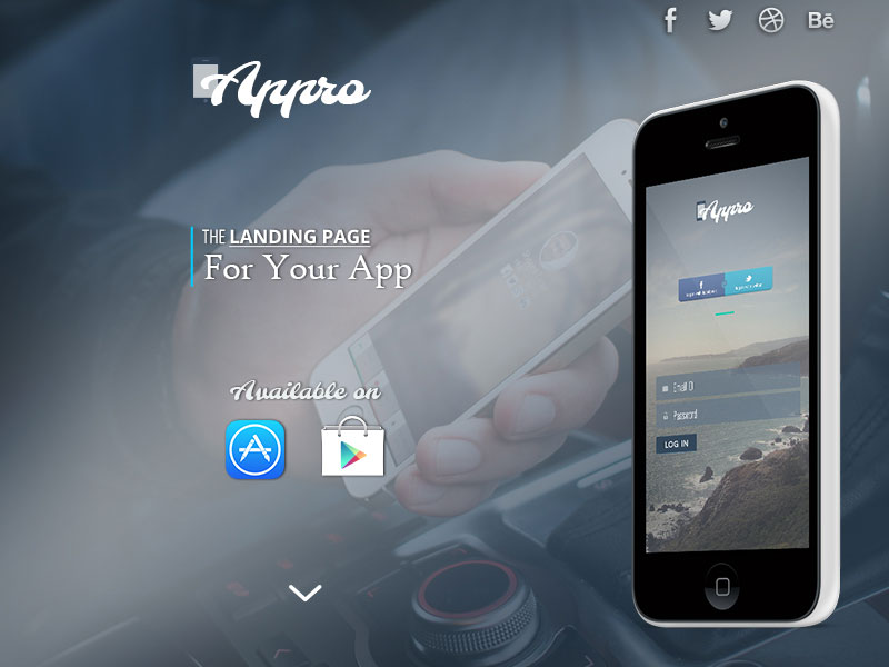 Appro-Free-PSD-Website-Template