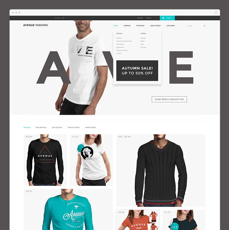 Avenue-Fashion-Free-PSD-ecommerce-template