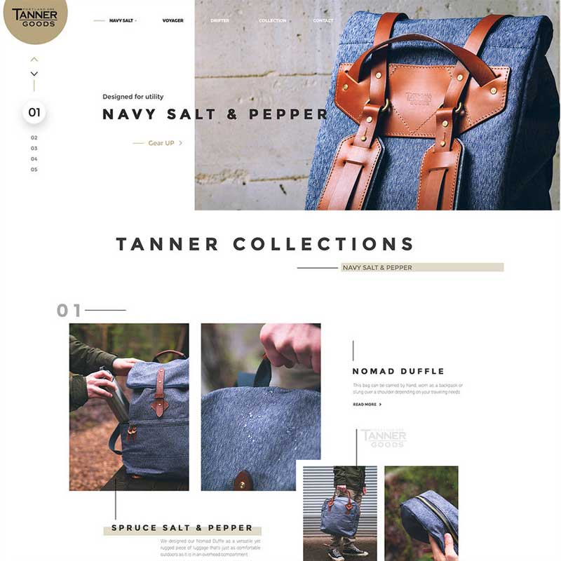 E-commerce-Tanner-Collections-Free-PSD-Template
