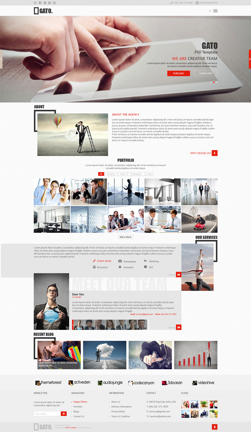 FREE-DOWNLOAD-GATO-WEBSITE-TEMPLATES