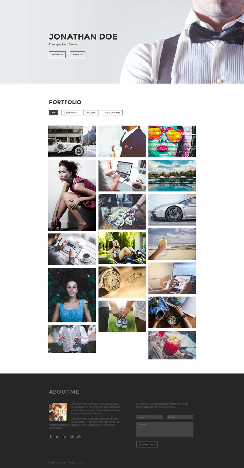 Focus-Free-Photography-Portfolio-Template