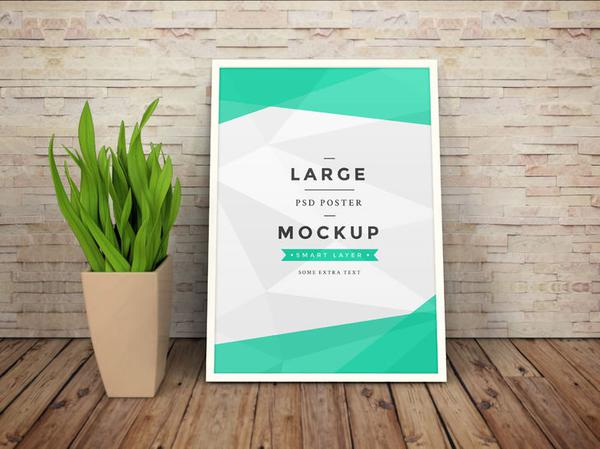 Free-Art-Work-Photo-Frame-Mockup-Psd