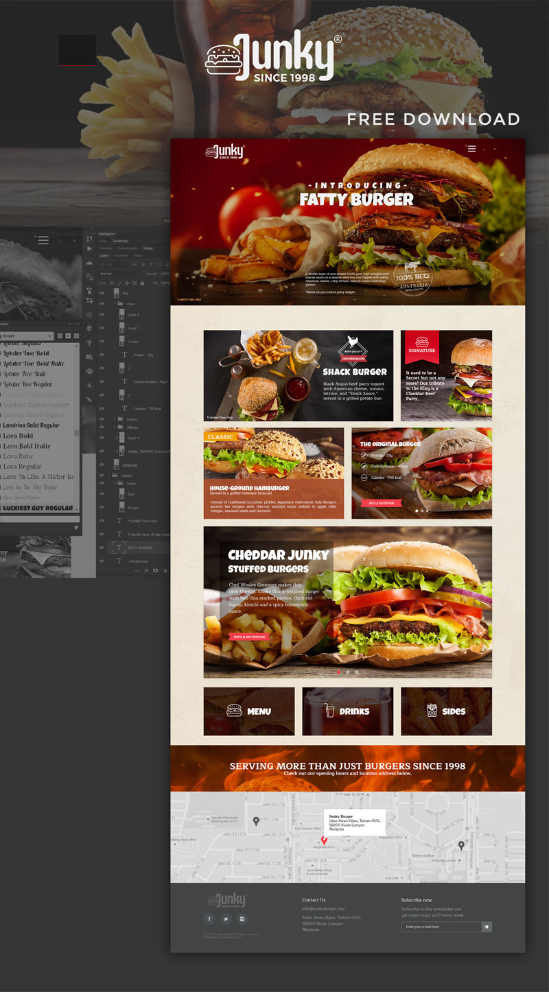 Free-Burger-Restaurant-WebsiteTemplate