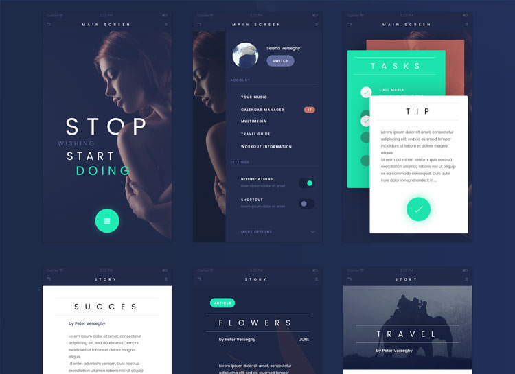 Free-Fade-Mobile-App-UI-Kit-in-Photoshop-Format