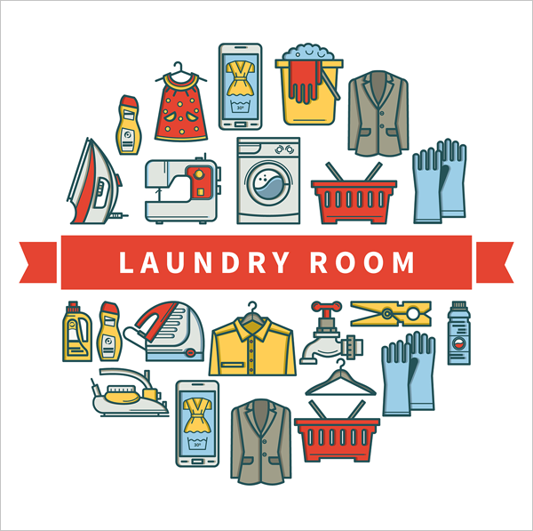 Free-Laundry-Room-Linear-Vector-Icons
