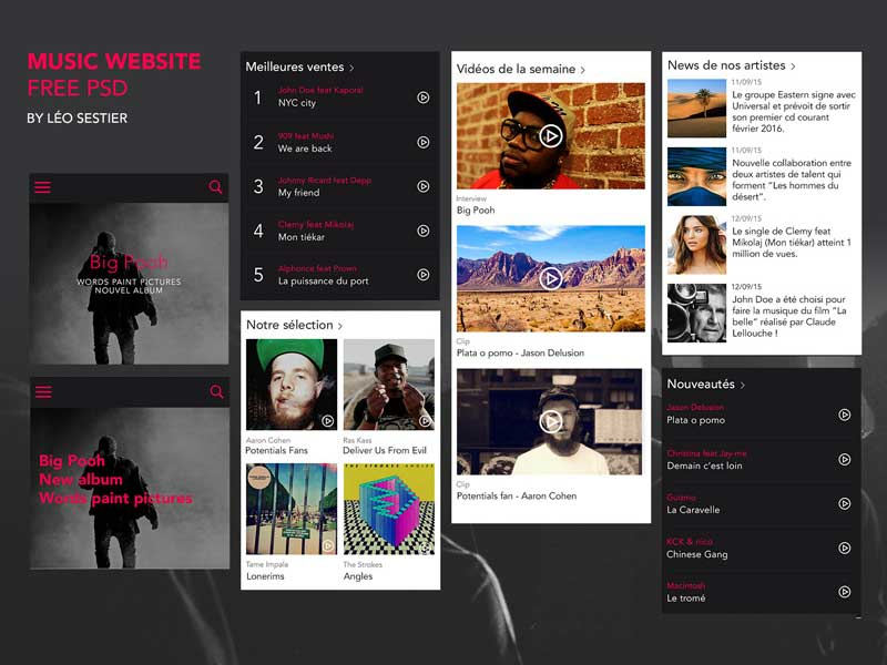 Free-Music-Website-Template-Psd