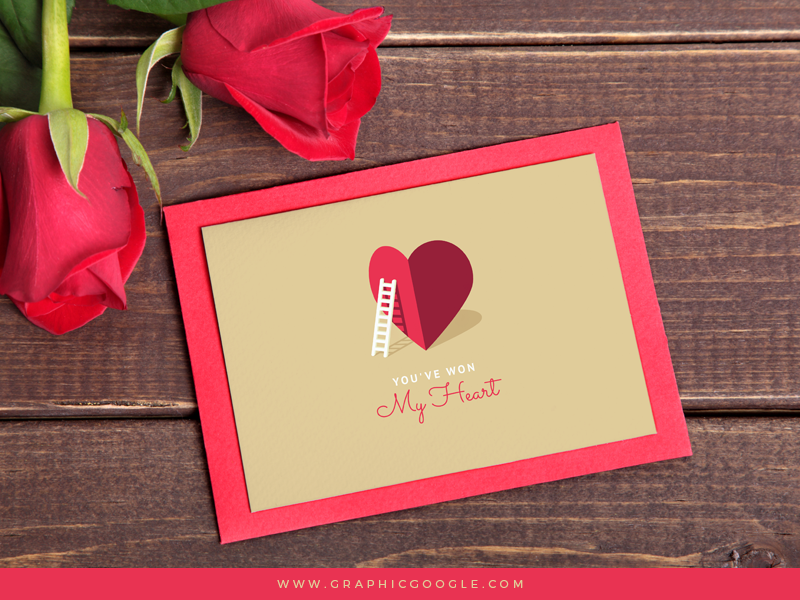 Free-My-Heart-Valentine-Card-For-Lovers