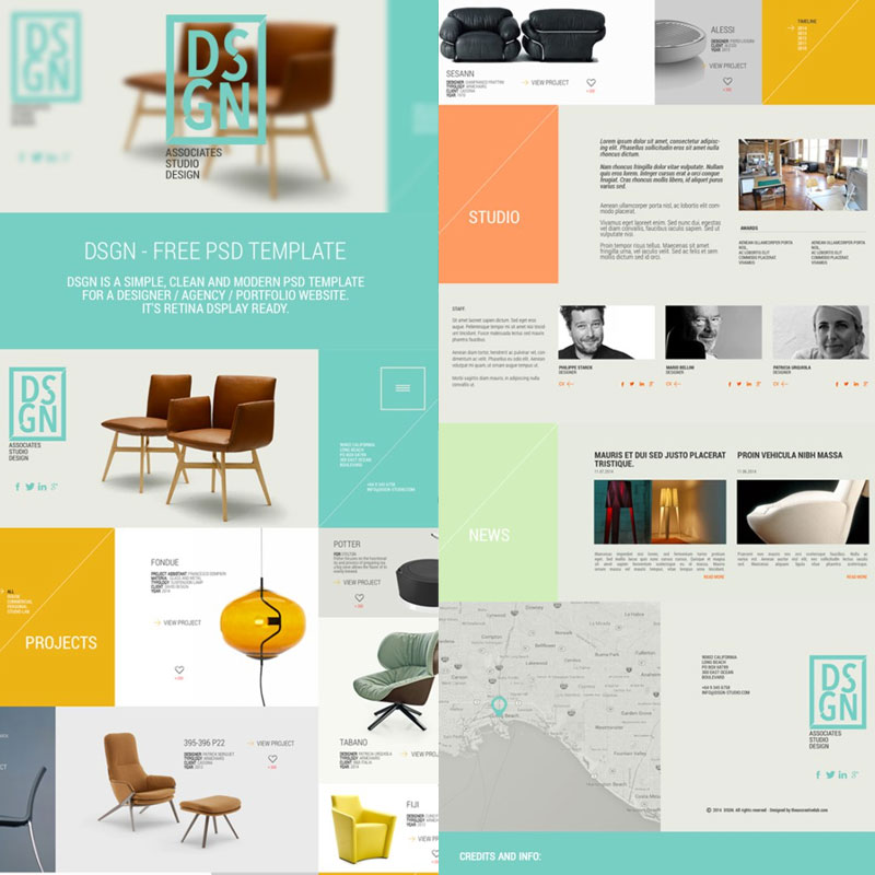 Free-PSD-Website-Theme-Template