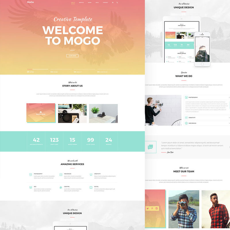 MoGo-Free-One-Page-PSD-Website-Template
