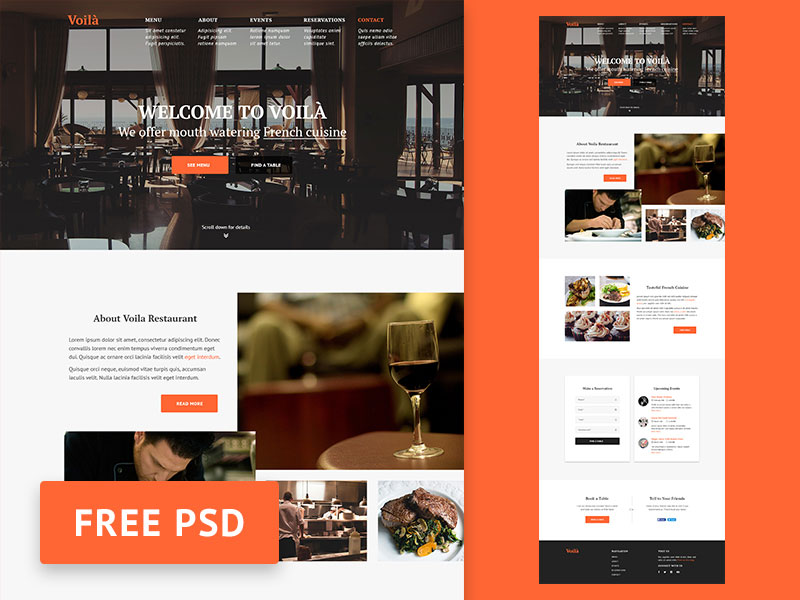 PSD-Freebie-Voila---Restaurant-web-design-template
