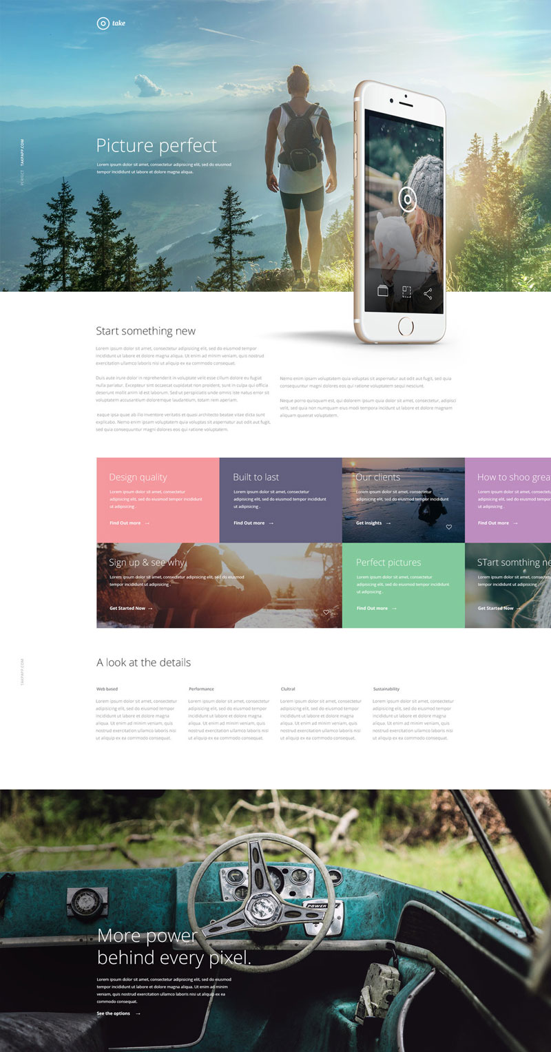 Take-Website-Template-Free-PSD