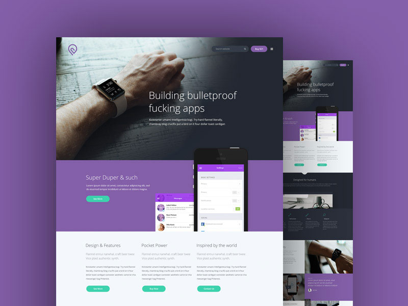 Tork-A-Free-PSD-Website-Template