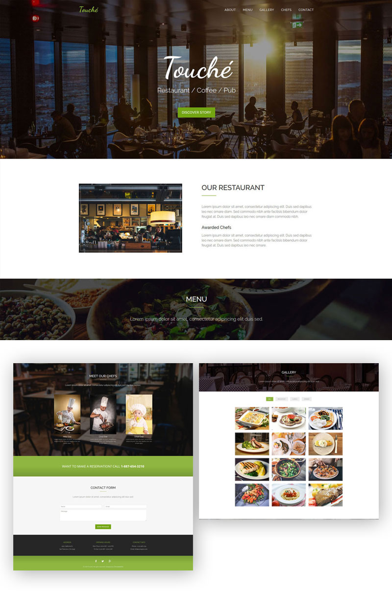 Touche---Free-Restaurant-Website-Template