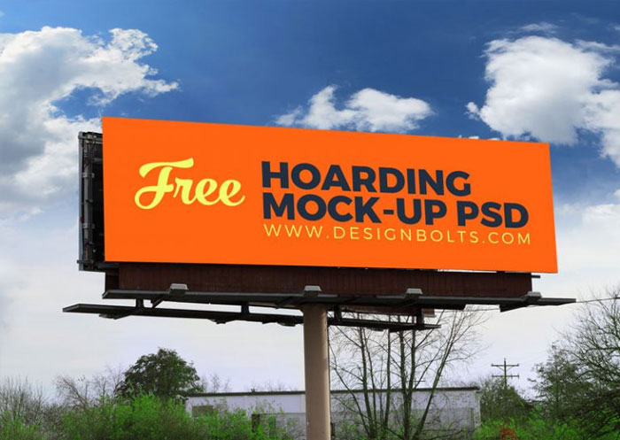 2-Free-Outdoor-Advertising-Billboard-(Hoarding)-Mockup-PSD-Files