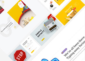 20 Free UI Kits Web Templates