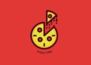 30 Newest & Creative Pizza Logo Design Ideas