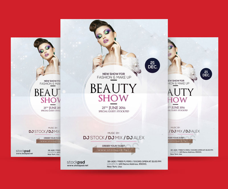 Beauty-Show-Free-Flyer-Template