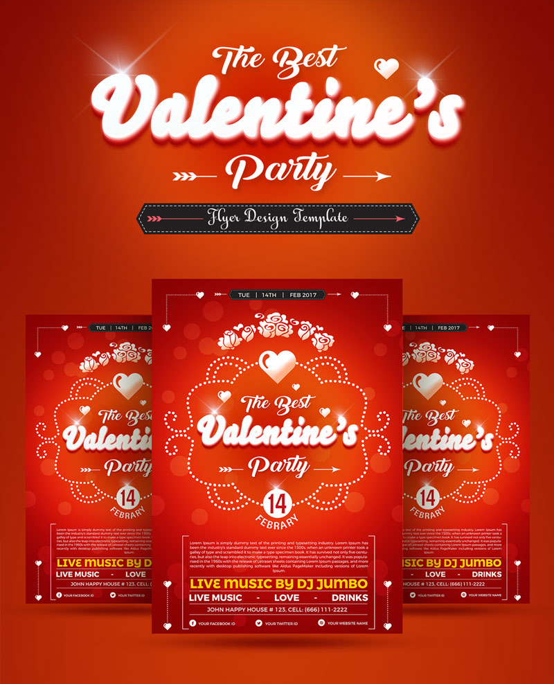 Best-Valentine-Party-Flyer-Design-Template