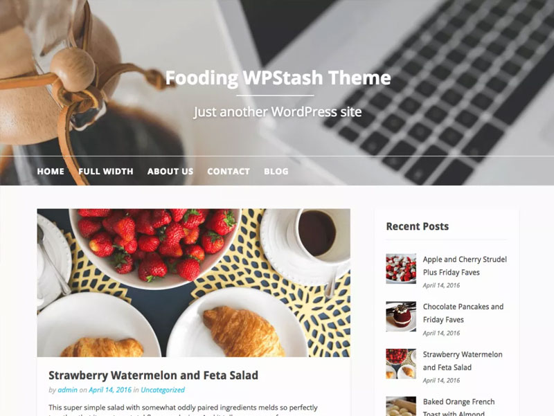 Fooding-Free-WPStash-Theme