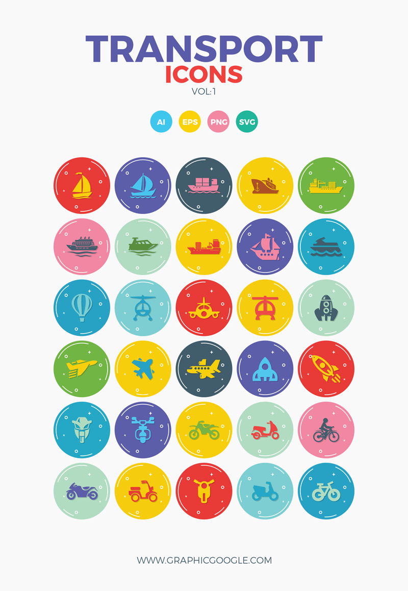 Free-30-Transport-Icons-Vol-1