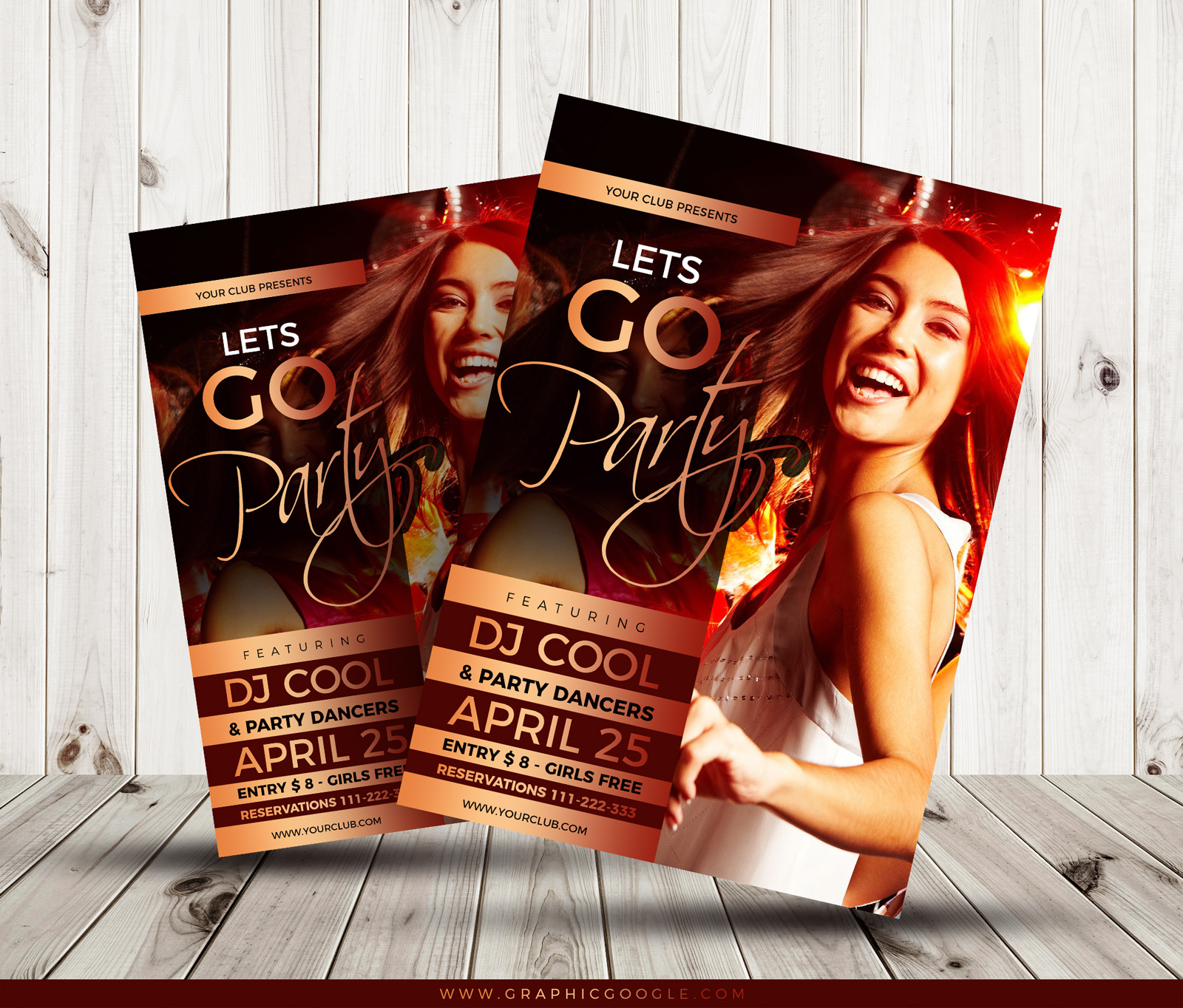 Free-Cool-Party-Flyer-Template-Design