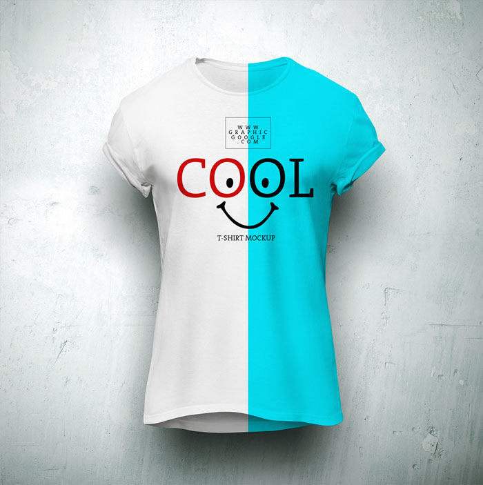 Free-Cool-T-Shirt-Mock-Up-For-Branding