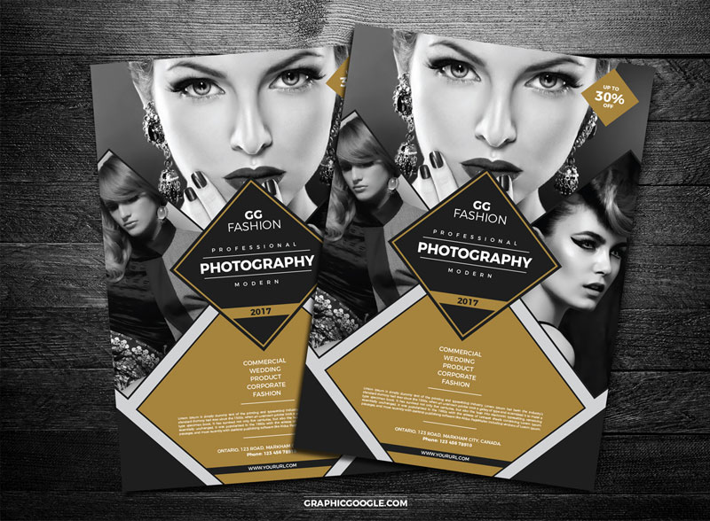 Free-Elegant-Fashion-Photography-Flyer-Design-Template
