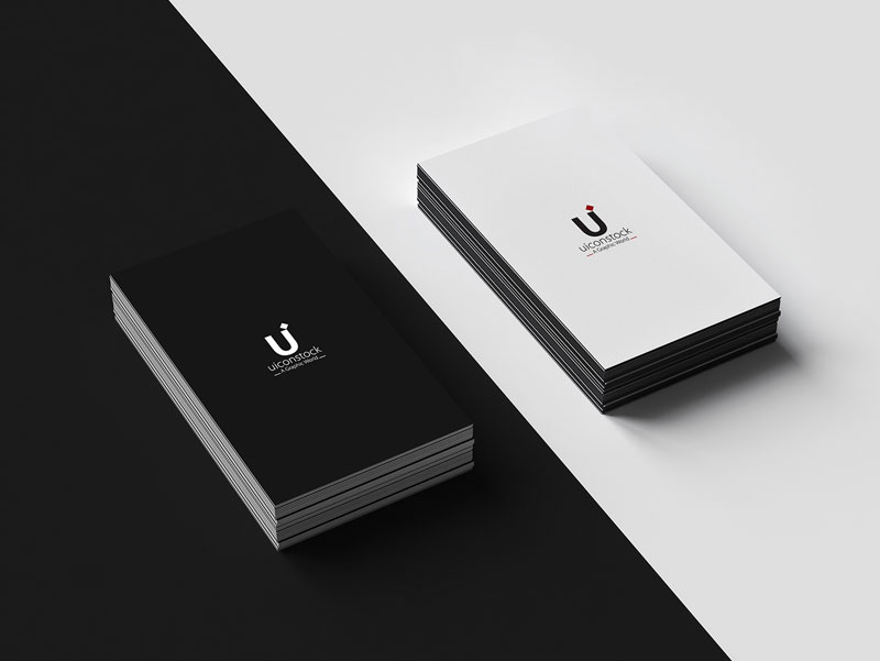 Free Flato Business Card Mockup