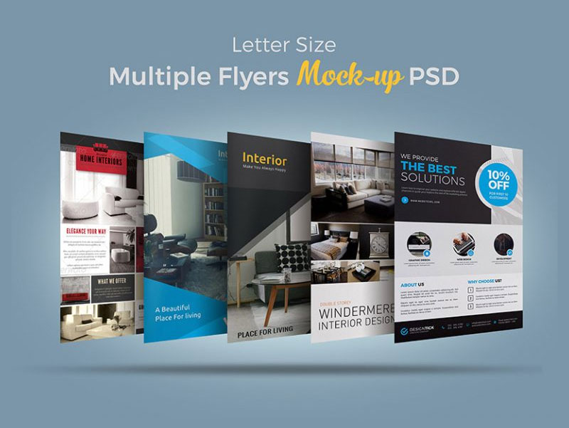 Free-Letter-Size-Multiple-Flyers-Bundle-MockUp-PSD