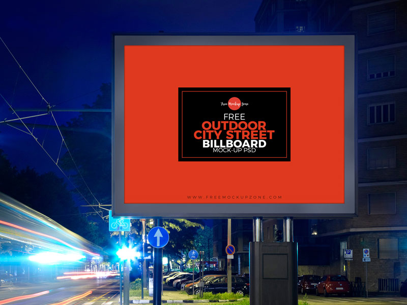 Free-Outdoor-City-Street-Billboard-MockUp-For-Advertisement