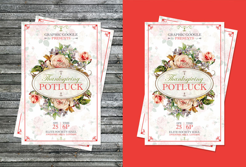 Free-Potluck-Thanksgiving-Flyer-Template-Design-PSD