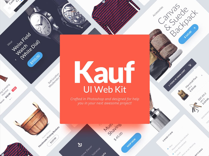 Kauf-Free-UI-Web-kit