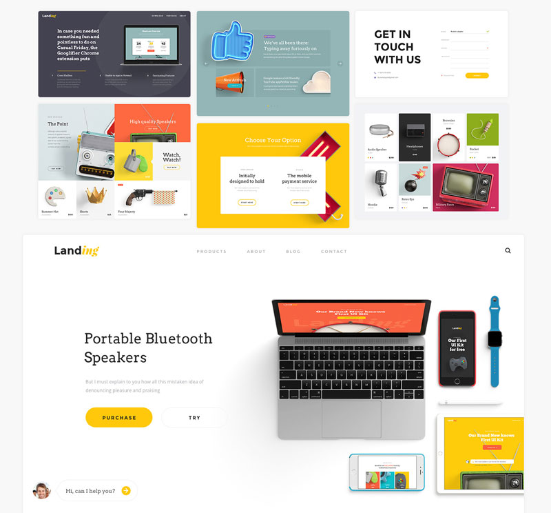 Landing-Free-Web-Ui-Kit-PSD-&-Sketch