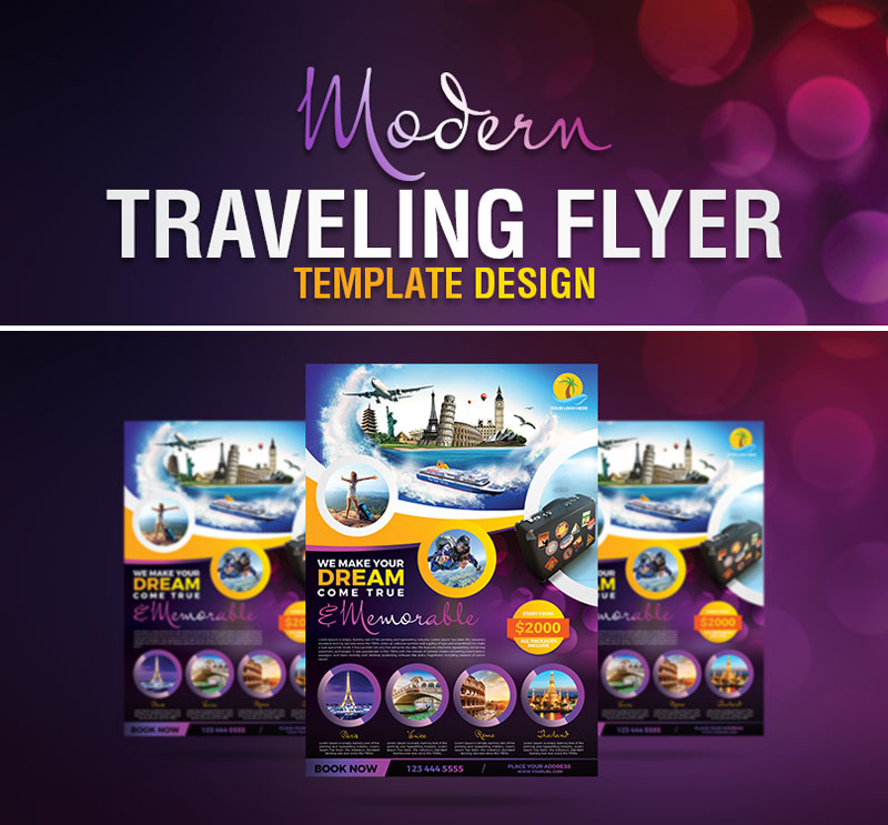 Modern-Traveling-Flyer-Template-Design-Psd