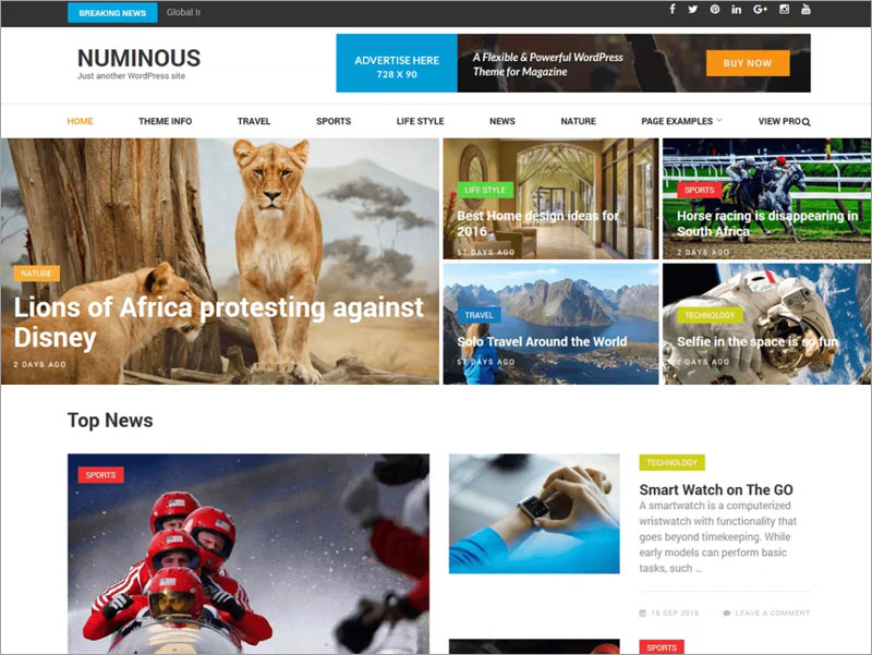 Numinous-Clean-and-Elegant-Magazine-Free-WordPress-Theme