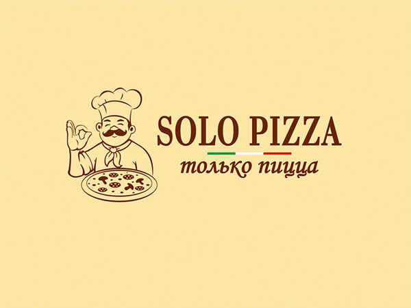 Solo-Pizza-Logo-Design