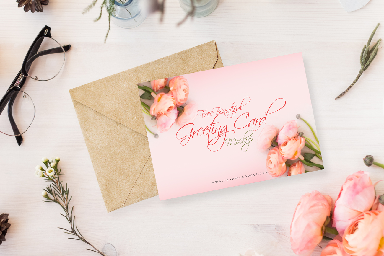 Free-Beautiful-Greeting-Card-MockUp-Psd